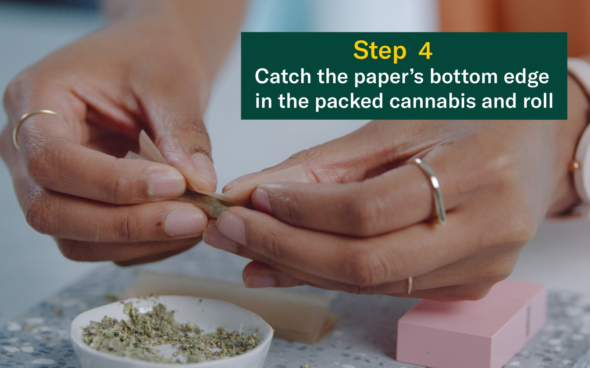 How to roll a joint no filter