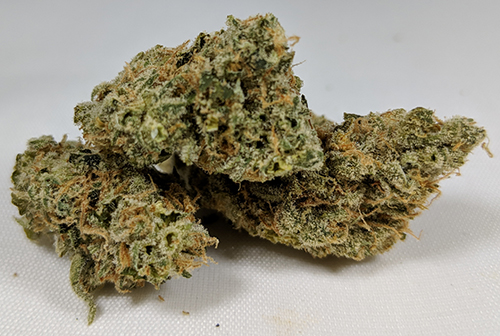 Weed with red hairs name